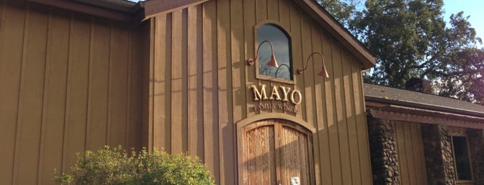 Mayo Family Winery is one of The Hit List.