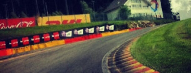 Circuit de Spa-Francorchamps is one of Race Tracks.