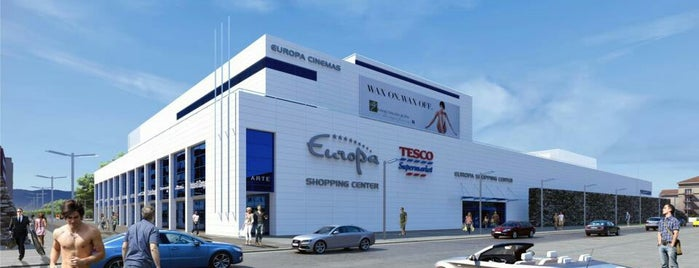 Europa Shopping Center is one of MALLS/SHOPPING CENTERS in Slovakia.