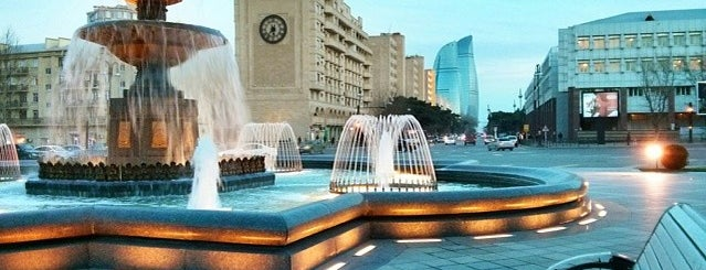 Əzizbəyov Parkı is one of Baku.