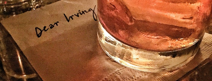 Dear Irving is one of 50 Top Cocktail Bars in the U.S..