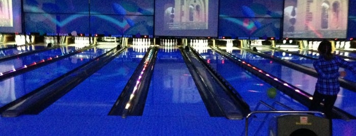 North Bowl Lanes is one of just a list of places.