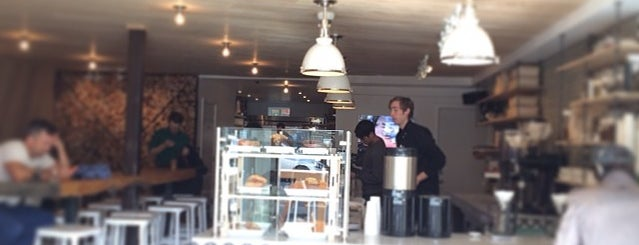 Réveille Coffee Co. is one of San Francisco Caffeine Crawl.