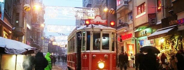 Beyoğlu is one of İstanbul'un İlçeleri.