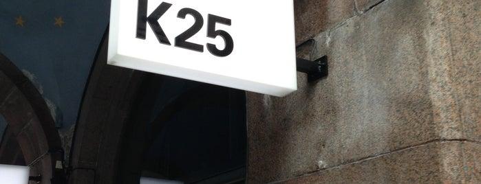 K25 is one of Stockholm food.