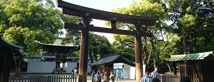 Meiji Jingu Shrine is one of Travel Guide to Tokyo.