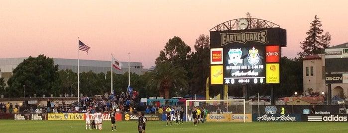 Buck Shaw Stadium is one of MLS Stadiums.