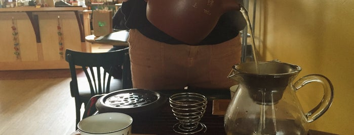 Stone Leaf Teahouse is one of Town hangouts for students.
