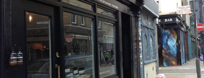 Aēsop is one of To (Beauty-) Shop.