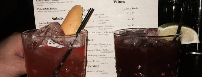 Handcraft Kitchen & Cocktails is one of NYC Cocktail Week 2015.
