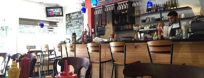 Cafe Zazo is one of Food Near 1550 Bryant.