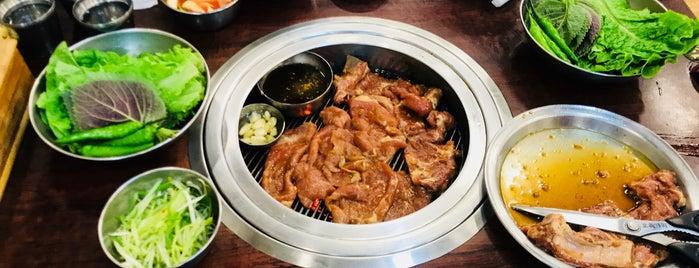 원조 청기와숯불갈비 is one of 마포구.