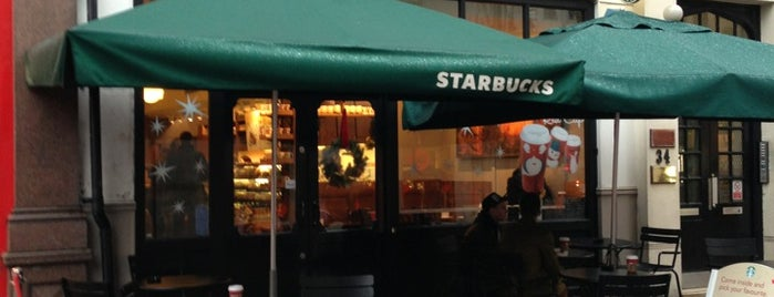Starbucks is one of Want to visit.