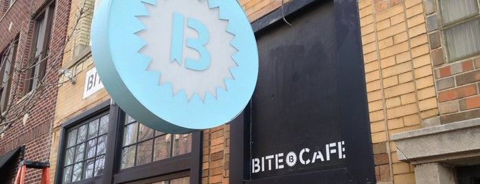 Bite Café is one of Chicago Vegetarian!.