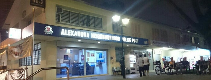 Alexandra Neighbourhood Police Post is one of Singapore Police Force.