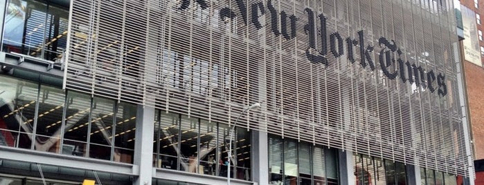 The New York Times Building is one of New York City.