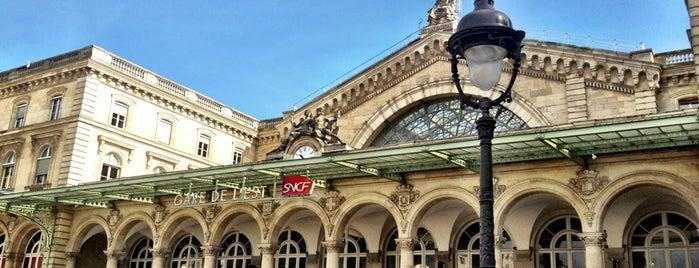 Gare de l'Est Railway Station is one of Hani.