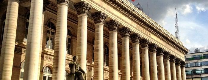Place de la Bourse is one of Most famous places in Paris.