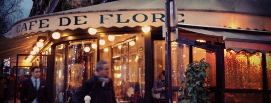 Café de Flore is one of Paris ! Must !.