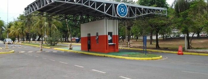 Universidade Federal de Mato Grosso (UFMT) is one of ●.