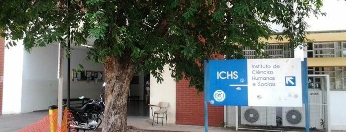 Instituto de Ciências Humanas e Sociais - ICHS - UFMT is one of ●.