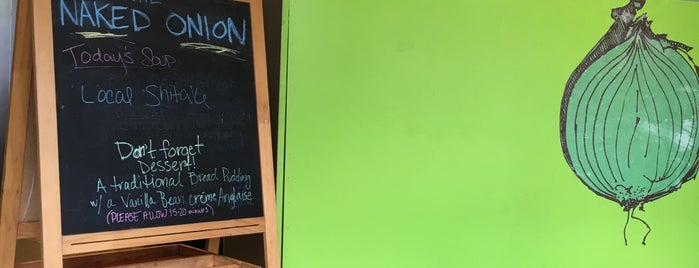 The Naked Onion is one of The 15 Best Places for Sandwiches in Richmond.
