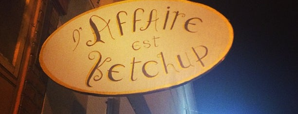 L'affaire est Ketchup is one of Bar<3.
