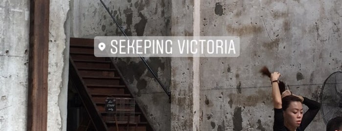 Sekeping Victoria is one of Coffee@Venture ^.^v.