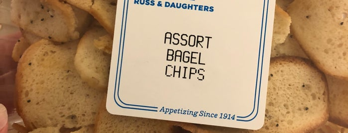 Russ & Daughters is one of Try.