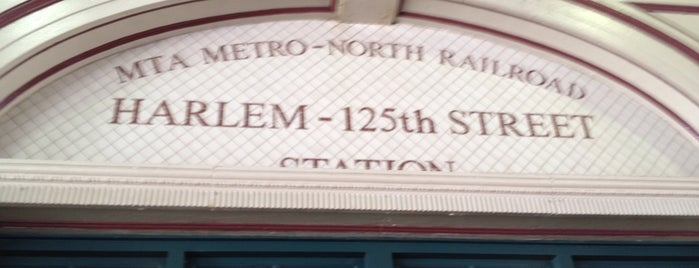 Metro North - Harlem - 125th Street Station is one of Club life out.