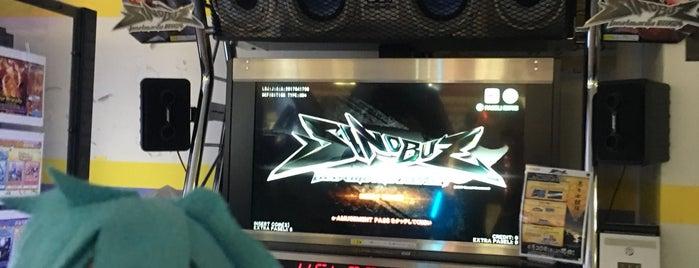 ゲームピーアーク青井 is one of beatmania IIDX 設置店舗.