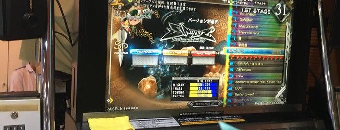 アミューズメントパーク アトム is one of beatmania IIDX 設置店舗.