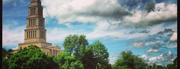George Washington Masonic National Memorial is one of Washington DC.