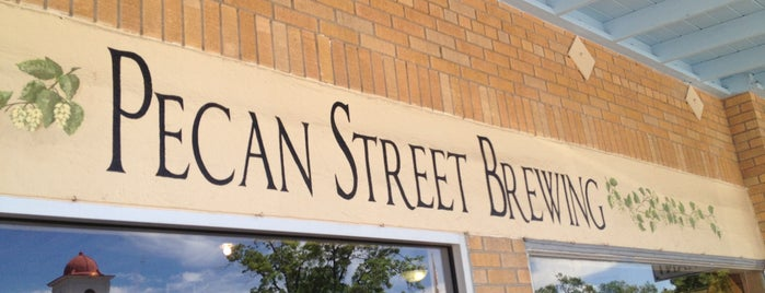 Pecan Street Brewing Co. is one of Texas Craft Breweries.