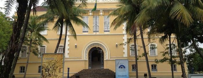Museu de Astronomia e Ciências Afins (MAST) is one of CRJ.
