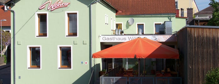 Gasthaus Bäckerei Wöhrer is one of AgenturWimmer Kunden.