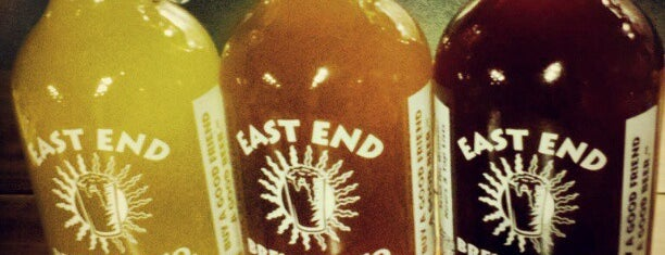 East End Brewing Company is one of Pgh Eats'n'Drinks.