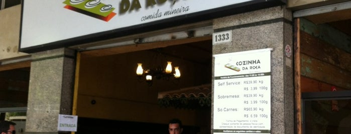 Cozinha da Roça is one of Must-visit Brazilian Restaurants in Belo Horizonte.