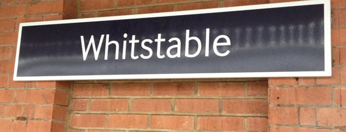 Whitstable Railway Station (WHI) is one of Train stations.