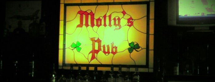 Molly's Pub is one of Houston's Best Pubs - 2012.