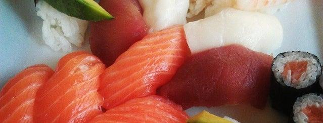 Kikaku Sushi Bar is one of real food.