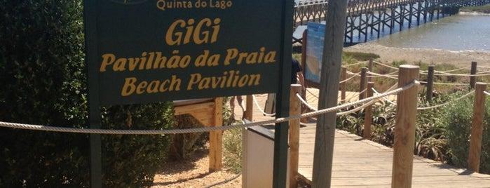 Praia Quinta do Lago is one of Guía del Algarve.