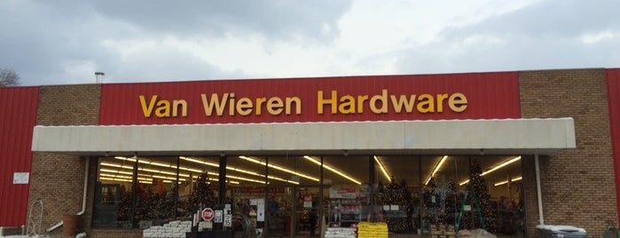 Van Wieren Hardware is one of Tool and Hardware Stores - West Michigan.