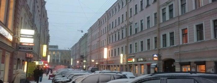 Спасский переулок is one of Санкт-Петербург.