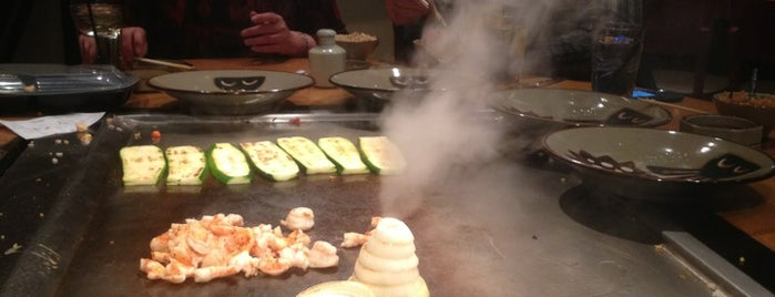 Benihana is one of Restaurants to try.