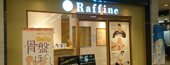 ラフィネ ペディ汐留店 is one of staffのいるvenues.