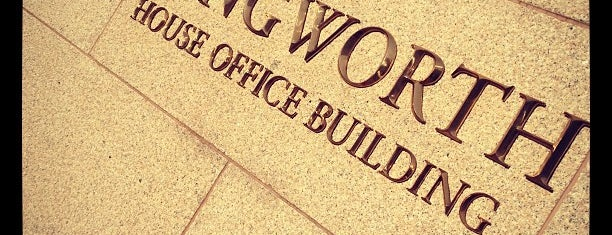 Longworth House Office Building is one of My places.