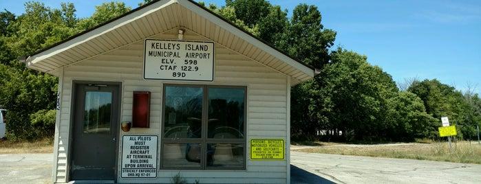 Kelleys Island Landing Field (89D) is one of Airports in Ohio.