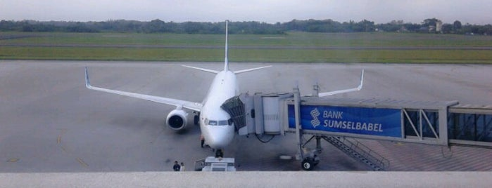 Sultan Mahmud Badaruddin II International Airport (PLM) is one of Indonesia's Airport - 1st List..