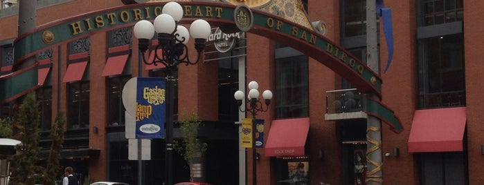 Gaslamp Quarter Sign is one of San Diego.